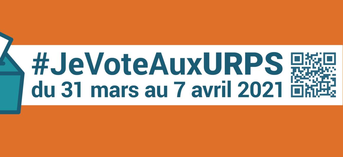 Je vote aux URPS du 31 mars au 7 avril 2021